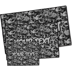 Skulls Door Mat (Personalized)