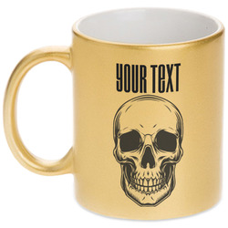 Skulls Gold Mug