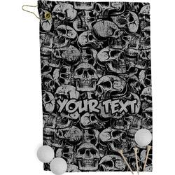 Skulls Golf Towel - Full Print (Personalized)
