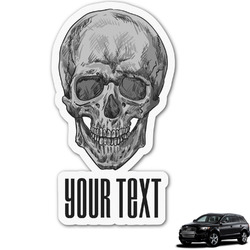 Skulls Graphic Car Decal (Personalized)
