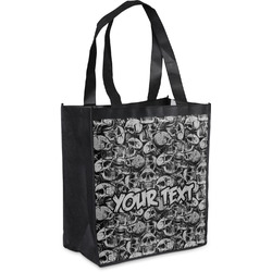 Skulls Grocery Bag (Personalized)