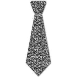 Skulls Iron On Tie (Personalized)