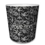 Skulls Plastic Tumbler 6oz (Personalized)