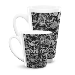 Skulls Latte Mug (Personalized)