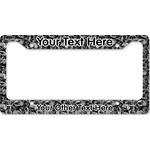 Skulls License Plate Frame (Personalized)