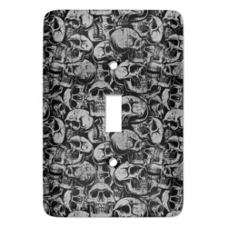 Skulls Light Switch Cover (Single Toggle) (Personalized)