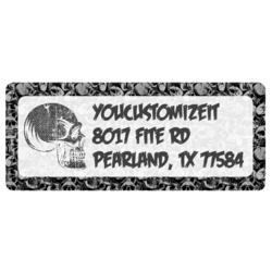 Skulls Return Address Labels (Personalized)