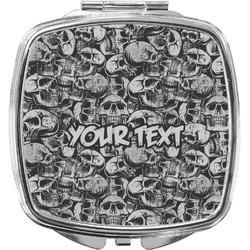 Skulls Compact Makeup Mirror (Personalized)