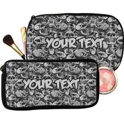 Skulls Makeup / Cosmetic Bag (Personalized)