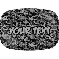 Skulls Melamine Platter (Personalized)