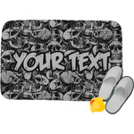 Skulls Memory Foam Bath Mat (Personalized)