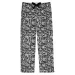 Skulls Mens Pajama Pants (Personalized)