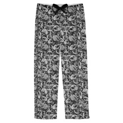 Skulls Mens Pajama Pants (Personalized)