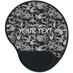 Skulls Mouse Pad with Wrist Support