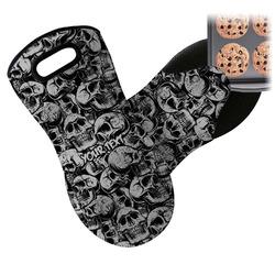 Skulls Neoprene Oven Mitt (Personalized)