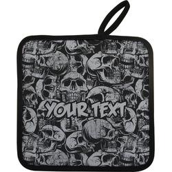 Skulls Pot Holder (Personalized)