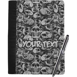 Skulls Notebook Padfolio (Personalized)