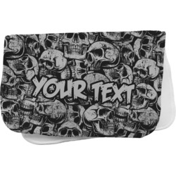 Skulls Burp Cloth (Personalized)