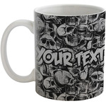 Skulls Coffee Mug (Personalized)