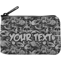 Skulls Rectangular Coin Purse (Personalized)