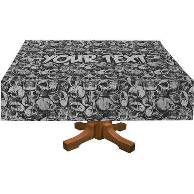 "Skulls Tablecloth - 58""x102"" (Personalized)"