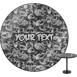 Skulls Round Table (Personalized)