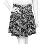 Skulls Skater Skirt (Personalized)