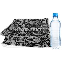 Skulls Sports Towel (Personalized)