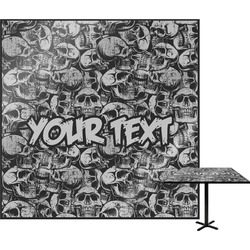 Skulls Square Table Top (Personalized)