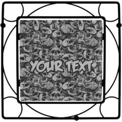 Skulls Square Trivet (Personalized)