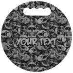 Skulls Stadium Cushion (Round) (Personalized)