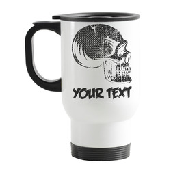 Skulls Stainless Steel Travel Mug with Handle