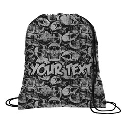Skulls Drawstring Backpack (Personalized)