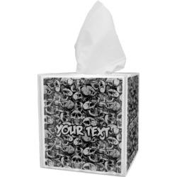 Skulls Tissue Box Cover (Personalized)