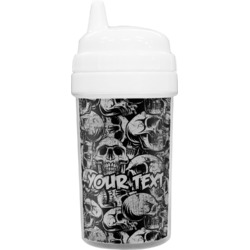 Skulls Sippy Cup (Personalized)