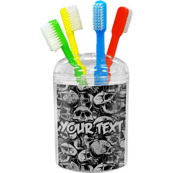 Skulls Toothbrush Holder (Personalized)