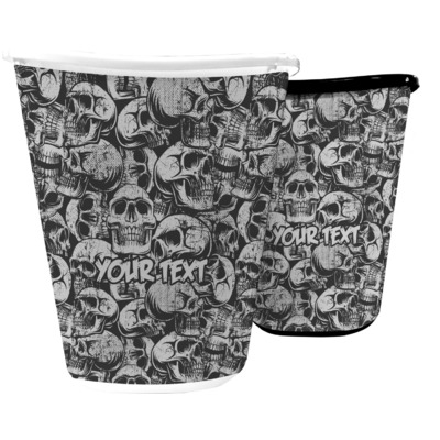 Skulls Waste Basket (Personalized)