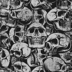 Skulls Wallpaper & Surface Covering