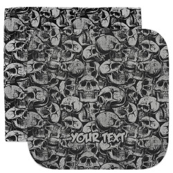 Skulls Facecloth / Wash Cloth (Personalized)