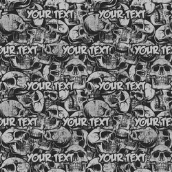Skulls Wrapping Paper (Personalized)