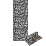 Skulls Yoga Mat - Printable Front and Back (Personalized)