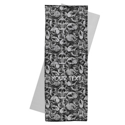 Skulls Yoga Mat Towel (Personalized)