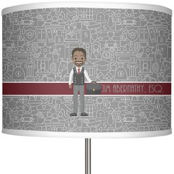 "Lawyer / Attorney Avatar 13"" Drum Lamp Shade (Personalized)"