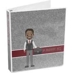 Lawyer / Attorney Avatar 3-Ring Binder (Personalized)