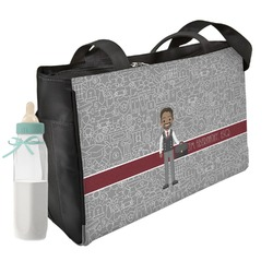 Lawyer / Attorney Avatar Diaper Bag w/ Name or Text