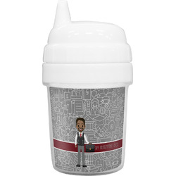 Lawyer / Attorney Avatar Baby Sippy Cup (Personalized)