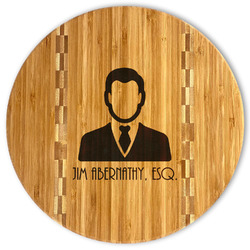Lawyer / Attorney Avatar Bamboo Cutting Board (Personalized)