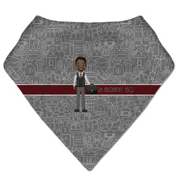Lawyer / Attorney Avatar Bandana Bib (Personalized)