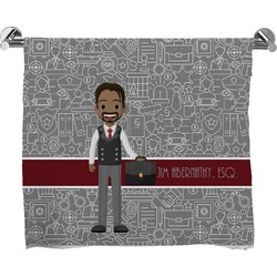 Lawyer / Attorney Avatar Full Print Bath Towel (Personalized)