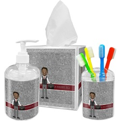 Lawyer / Attorney Avatar Bathroom Accessories Set (Personalized)